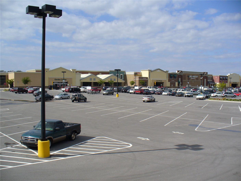 Edmond Walmart facades