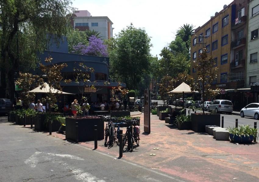 Pocket Park Condesa Neighborhood